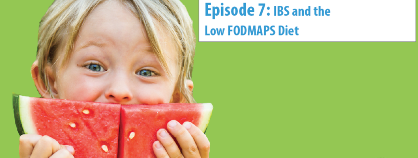 IBS and the low FODMAPS diet