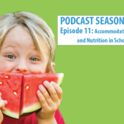 Accommodating Diets and Nutrition in School