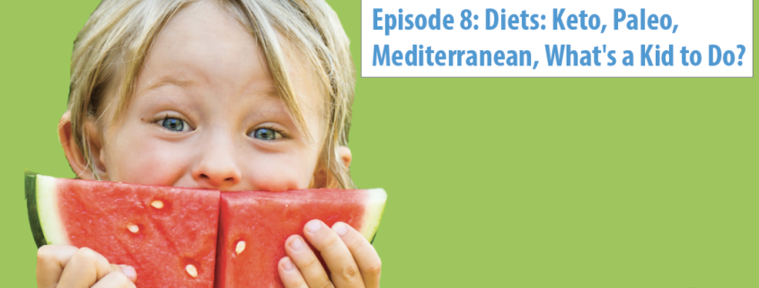 Diets: Keto, Paleo, Mediterranean, What's a Kid to Do?