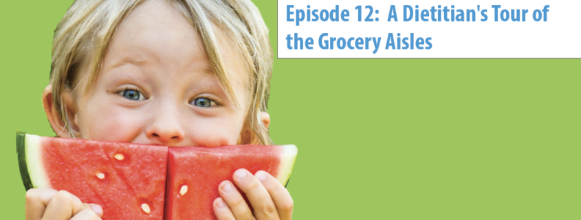 Have you ever wished you could take a dietitian or a cooking expert along with you to the grocery store?