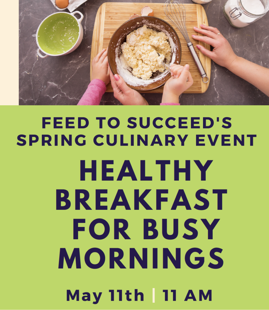 Breakfast Cooking Demo | Feed To Succeed