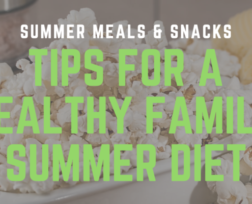 tips for healthy kids summer diet